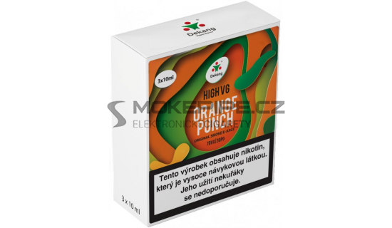Liquid Dekang High VG 3Pack Orange Punch 3x10ml - 3mg
