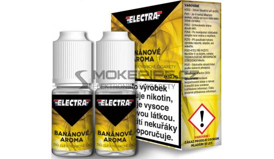 Liquid ELECTRA 2Pack Banana 2x10ml - 18mg (Banán)