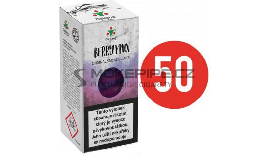 Liquid Dekang Fifty Berry Mix 10ml - 16mg (Lesní Plody)