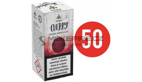 Liquid Dekang Fifty Cherry 10ml - 18mg (Třešeň)