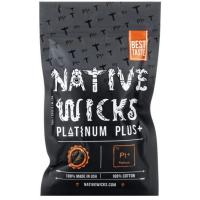 Native Wicks Platinum Plus - přírodní vata