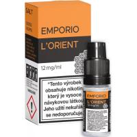 Liquid Emporio Salt: L'Orient (Orientální tabák) 10ml - 12mg