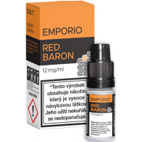 Liquid Emporio Salt: Red Baron (Rybíz, lesní plody a lékořice) 10ml - 12mg