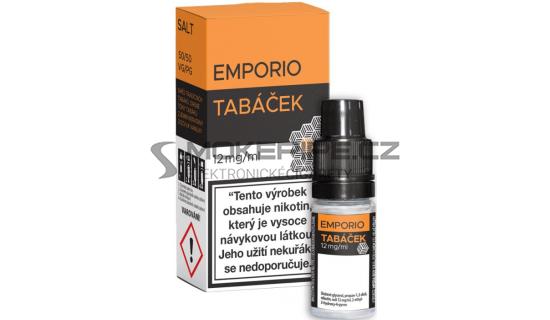 Liquid Emporio Salt: Tabáček (Tabáková směs) 10ml - 12mg
