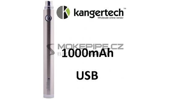 Kangertech EVOD baterie s USB 1000mAh - Stříbrná