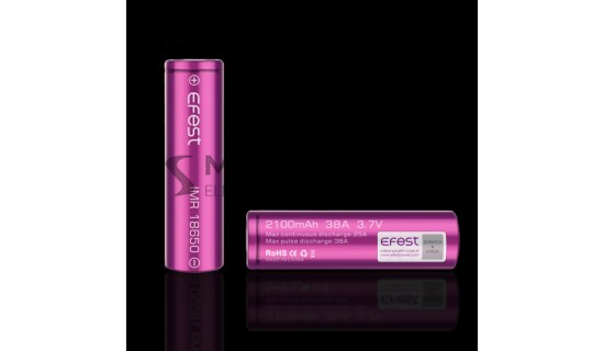 Efest IMR baterie typ 18650 2100mAh 38A
