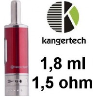 Kangertech Aerotank MOW clearomizer 1,8ml - Cherry Red