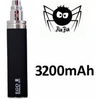 BuiBui GS eGo III baterie 3200mAh - Černá