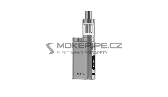 Eleaf iStick Pico TC 75W kompletní set - Brushed Silver