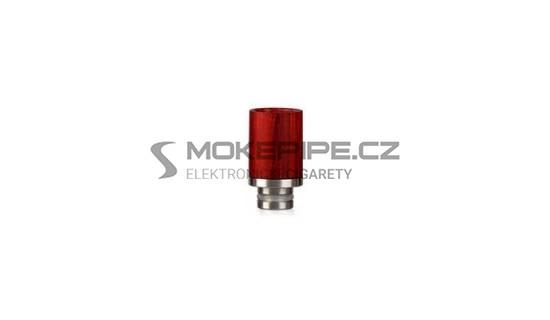 Dřevěný náustek 510 - krátký - Red Wood
