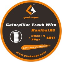 GeekVape Kanthal A1 Caterpillar Track Drát (28GAx4+30GA) - 3m