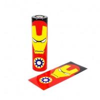 Smršťovací folie pro baterie 18650 (Iron Man)