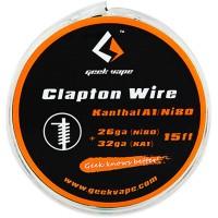 GeekVape Clapton odporový drát (32AWG KA1 + 26AWG Ni80) - 5m