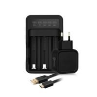 Avatar - multifunkční nabíječka baterií - Černá