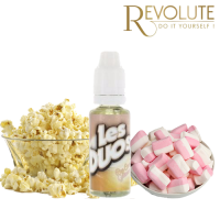 Příchuť Revolute Les Duos: Popcorn a marshmallow (Popcorn Guimauve) 20ml