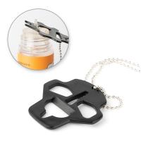 Nástroj pro otevírání lahviček Cap Opener 5v1 (typ F / černá)