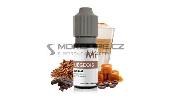 E-liquid The Fuu MiNiMAL 10ml / 10mg: Liégeois (Čokoláda s kávou a karamelem)