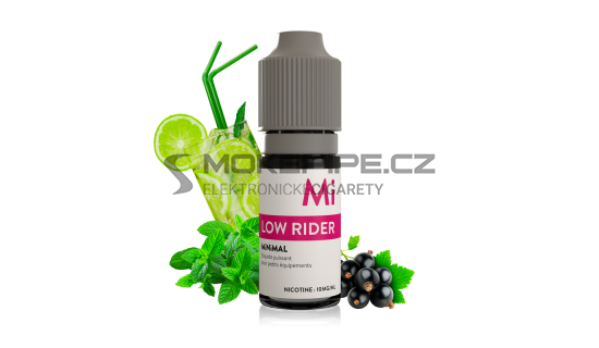 E-liquid The Fuu MiNiMAL 10ml / 10mg: Berry Lemonade (Rybízovo-limetková limonáda)