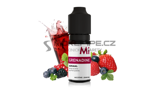 E-liquid The Fuu MiNiMAL 10ml / 20mg: Grenadine (Ovocný sirup)