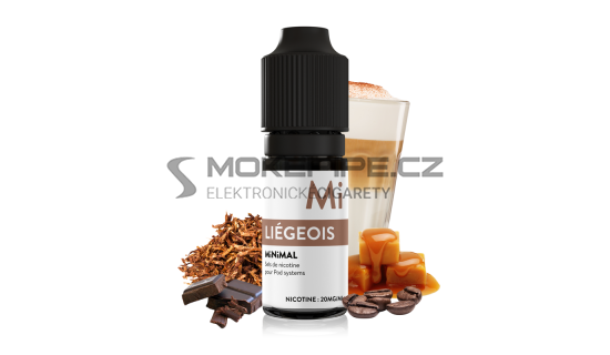 E-liquid The Fuu MiNiMAL 10ml / 20mg: Liégeois (Čokoláda s kávou a karamelem)
