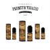 E-liquid DIY sada Premium Tobacco 6x10ml / 3mg: Deluxe Tobacco