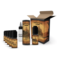 E-liquid DIY sada Premium Tobacco 6x10ml / 6mg: CHB