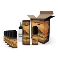 E-liquid DIY sada Premium Tobacco 6x10ml / 6mg: Deluxe Tobacco