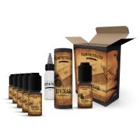E-liquid DIY sada Premium Tobacco 6x10ml / 6mg: RY4 Cigar
