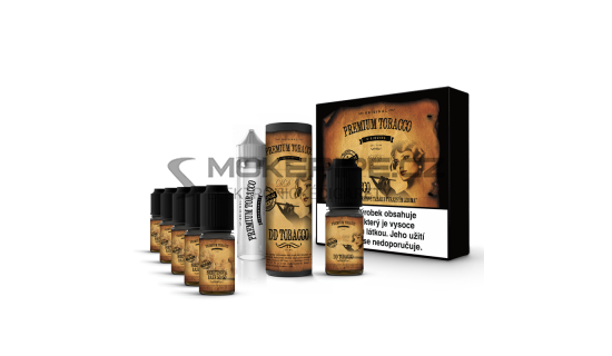 E-liquid DIY sada Premium Tobacco 6x10ml / 12mg: DD Tobacco