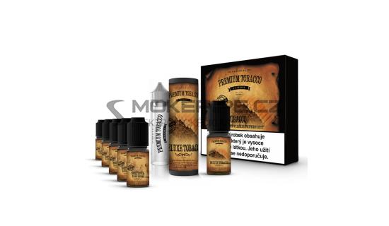E-liquid DIY sada Premium Tobacco 6x10ml / 12mg: Deluxe Tobacco