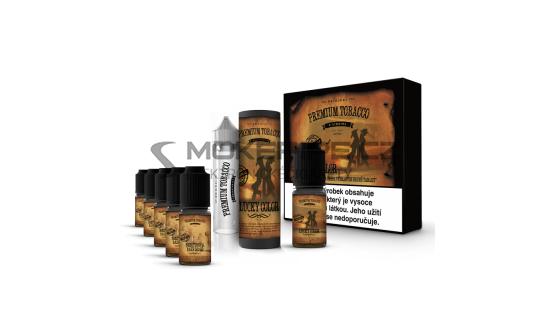 E-liquid DIY sada Premium Tobacco 6x10ml / 12mg: Lucky Color