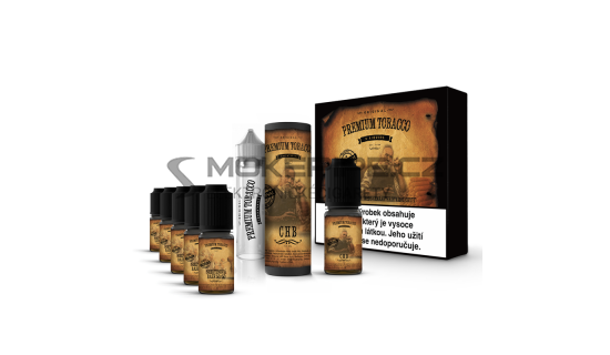 E-liquid DIY sada Premium Tobacco 6x10ml / 18mg: CHB