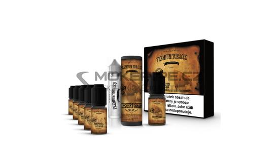 E-liquid DIY sada Premium Tobacco 6x10ml / 18mg: Desert Ship