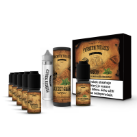 E-liquid DIY sada Premium Tobacco 6x10ml / 18mg: MaXXky Green