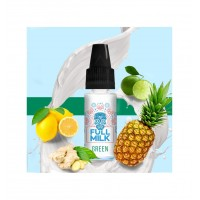 Příchuť Full Milk: Green (Ananas, citrusy a zázvor s mlékem) 10ml