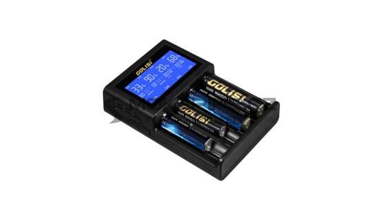 Golisi S4 2.0A Smart Charger - Multifunkční nabíječka baterií