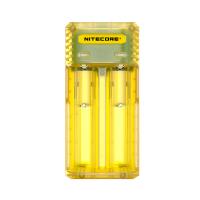Nitecore Intellicharger Q2 multifunkční nabíječka baterií - Juicy Mango