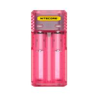 Nitecore Intellicharger Q2 multifunkční nabíječka baterií - Pinky peach