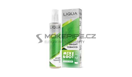 Příchuť LIQUA Mix&Go: Bright Tobacco (Virginská tabáková směs) 12ml