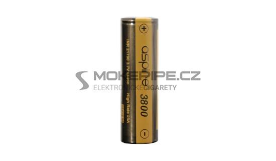 Aspire baterie typ INR 21700 3800mAh 25A