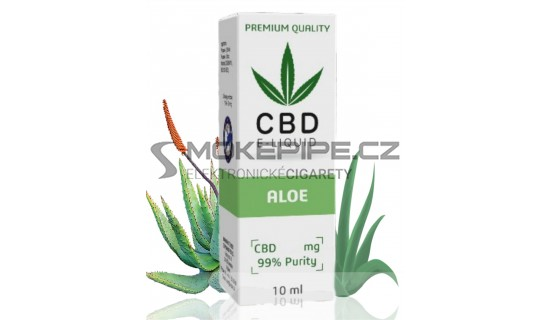 10ml CBD Vape Liquid - Aloe 600mg (6%)
