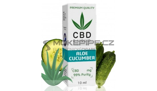 10ml CBD Vape Liquid - Aloe Cucumber 600mg (6%)