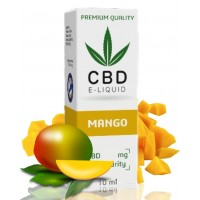 10ml CBD Vape Liquid - Mango 300mg (3%)