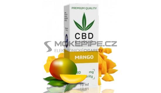 10ml CBD Vape Liquid - Mango 600mg (3%)