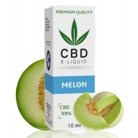 10ml CBD Vape Liquid - Melon 600mg (6%)