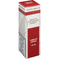 Liquid Ecoliquid Cherry 10ml - 12mg (Třešeň)