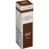 Liquid Ecoliquid Coffee 10ml - 6mg (Káva)