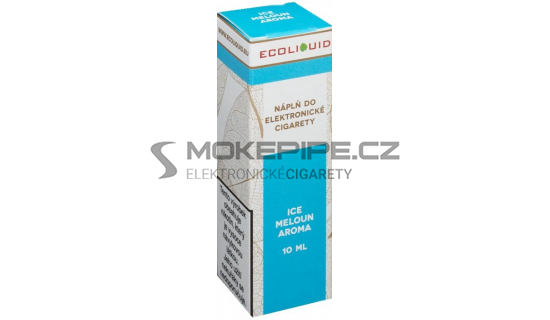 Liquid Ecoliquid ICE Melon 10ml - 12mg (Svěží meloun)