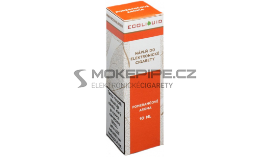 Liquid Ecoliquid Orange 10ml - 0mg (Pomeranč)