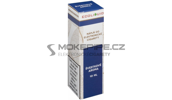 Liquid Ecoliquid Plum 10ml - 12mg (Švestka)